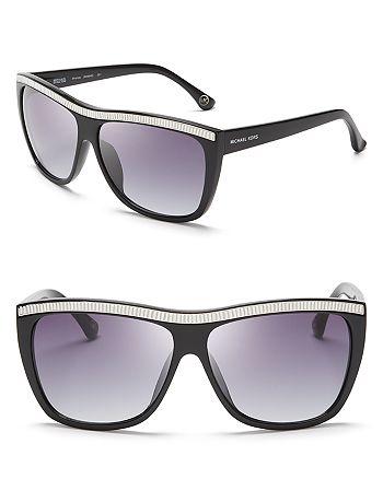 Michael Kors - Women's Miranda Crystal Wayfarer Sunglasses