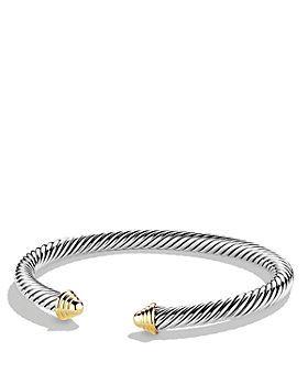David Yurman - Cable Classics Bracelet with 14K Gold, 5mm