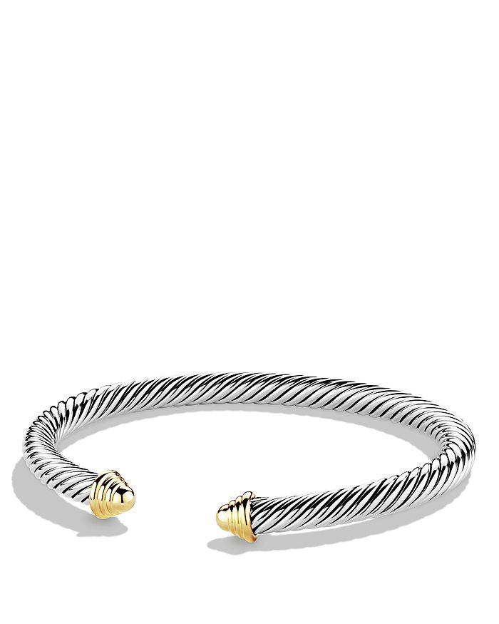 David Yurman - Cable Classics Bracelet with 14K Gold, 5mm