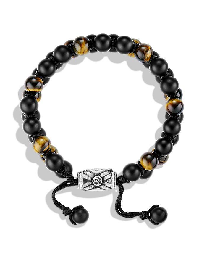 db41044cc0743 Spiritual Beads Two-Row Bracelet with Black Onyx & Tiger's Eye