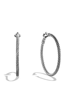 David Yurman - Cable Classics Large Hoop Earrings
