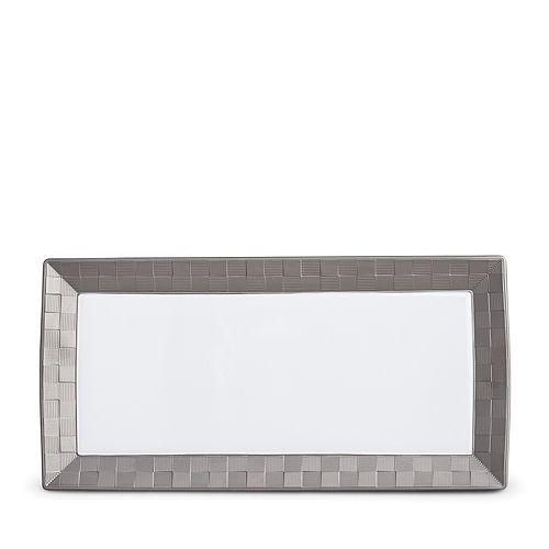 L'Objet - Byzanteum Platinum Rectangular Platter