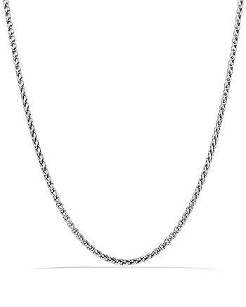 David Yurman - Small Wheat Chain Necklace