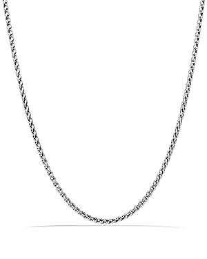 David Yurman Small Wheat Chain Necklace, 22