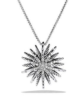 David Yurman - Starburst Medium Pendant with Diamonds on Chain
