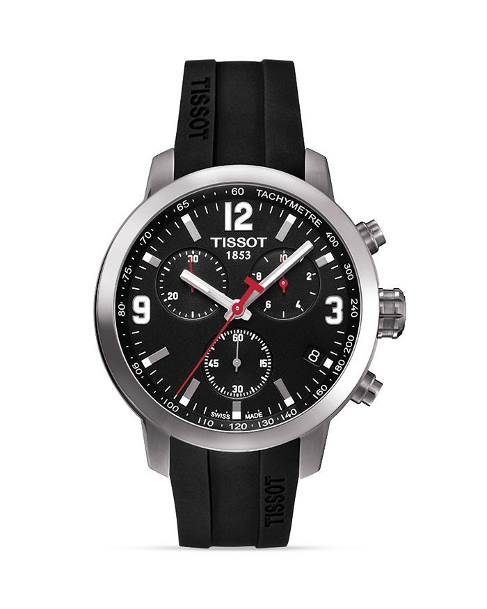 84f7c7799 Tissot PRC 200 Men's Chronograph Quartz Sport Watch, 41mm ...