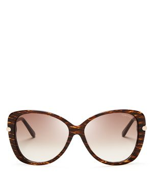 Tom Ford Women's Linda Oversized Sunglasses, 59mm