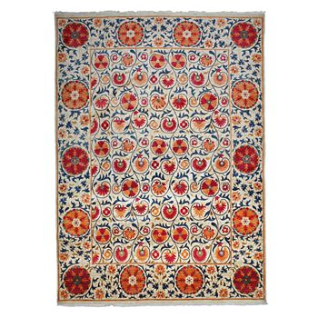 Bloomingdale's - Suzani Collection Oriental Rug, 9' x 12'3""