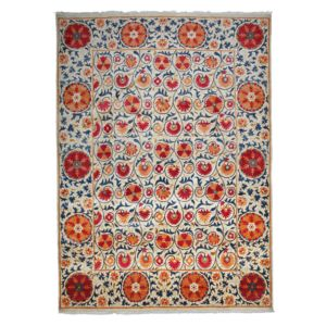 Suzani Collection Oriental Rug, 9' x 12'3