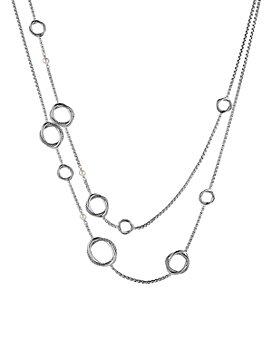 David Yurman - Infinity Necklace with Pearls