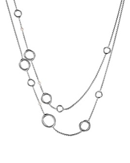 David Yurman - Infinity Necklace with Pearls