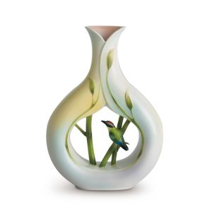 Franz Collection Bamboo Song Bird Vase