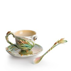 Franz Collection Swan Lake Cup & Saucer with Spoon - Bloomingdale's_0