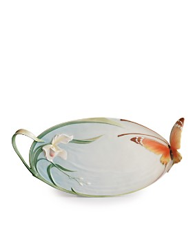 Franz Collection - Papillon Butterfly Ornamental Platter