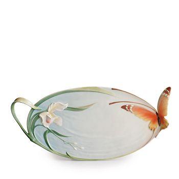 Franz Collection - Papillon Butterfly Ornamental Platter