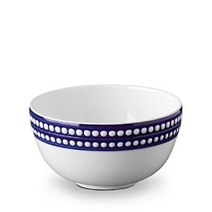 L'Objet Perlee Bleu Cereal Bowl