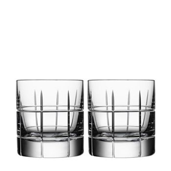 Orrefors - Street Specialty Drinkware by Jan Johansson Whiskey Glass, Set of 2