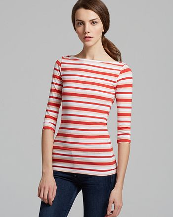 FRENCH CONNECTION - Space Hopper Stripe Tee