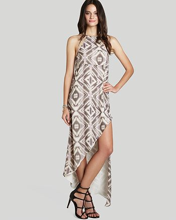 BCBGeneration - Asymmetric Printed Dress