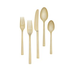 Vera Wang Polished Gold Flatware - Bloomingdale's Registry_0