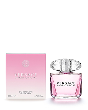 Versace Bright Crystal Eau de Toilette 6.7 oz.