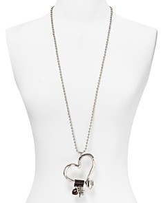 """Uno de 50 - Love at First Sight Necklace, 34"""""""