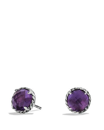 David Yurman - Châtelaine Earrings with Amethyst