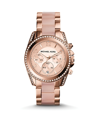 Michael Kors Rose GoldTone Blair Watch, 39mm
