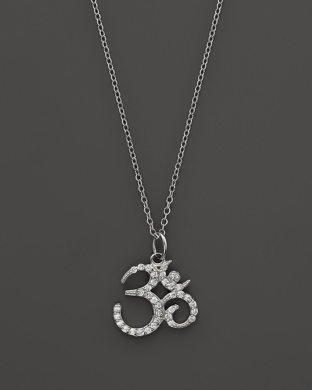 Kc designs diamond om pendant necklace in 14k white gold 16 pdpimgshortdescription mozeypictures Image collections