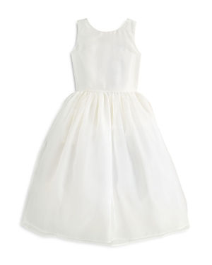 Us Angels Girls' Organza Tank Dress - Big Kid