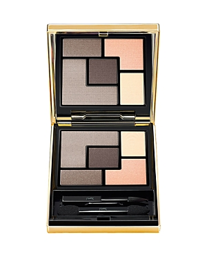 What It Is: A new five-color ready-to-wear palette that allows you to create signature couture looks for your eyes. What It Does: With intense color payoff and the perfect combination of matte, satin and shimmer shades, you can create three signature looks from one palette. The crease-proof, long-wearing intense color glides on smoothly and evenly and blends effortlessly. How To Use It: Apply to lids using an eyeshadow brush or your fingertips.