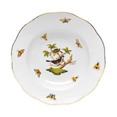 Herend - Rothschild Bird Rimmed Soup Bowl, Motif #1