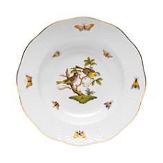 Herend - Rothschild Bird Rimmed Soup Bowl, Motif #11