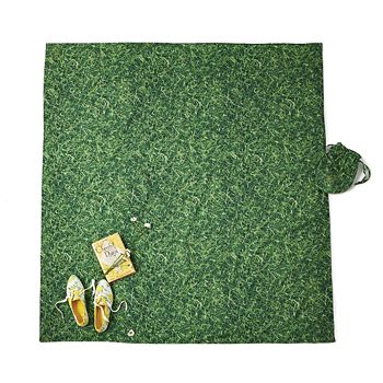 kate spade new york - Grass Printed Picnic Blanket