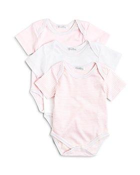 Kissy Kissy - Girls' Stripe & Solid Bodysuit, 3 Pack - Baby
