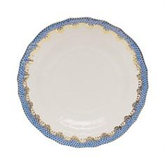 Herend Fish Scale Blue Dessert Plate - Bloomingdale's_0