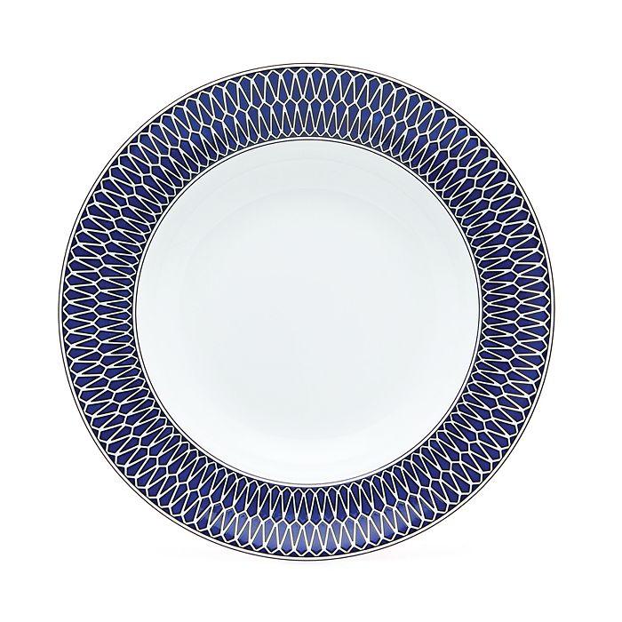 Royal Limoges - Blue Star Rimmed Soup Plate