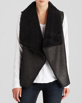 Velvet by Graham & Spencer - Faux Fur Vest