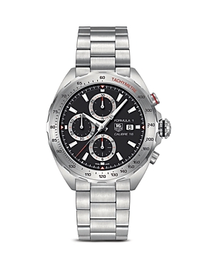 Tag Heuer Formula 1 Calibre 6 Chronograph Stainless Steel Watch, 44mm