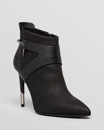 Dolce Vita - Pointed Toe Booties - Isleen Harness High-Heel
