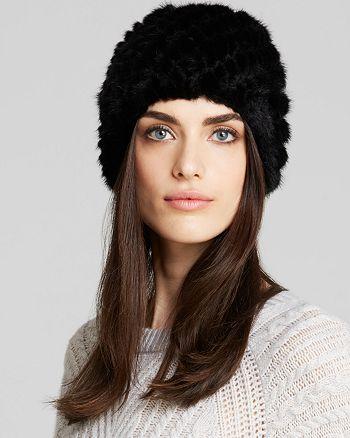 Maximilian Furs - Knitted Mink Hat
