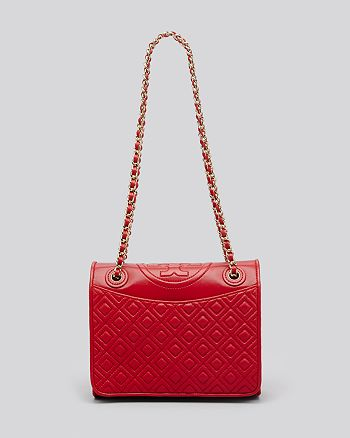 Tory Burch - Fleming Quilted Flap Convertible Shoulder Bag