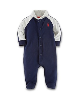 Ralph Lauren - Boys' Jersey Rugby Coverall - Baby