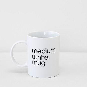 Bloomingdale's - Medium White Mug - 100% Exclusive