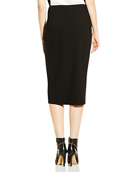 VINCE CAMUTO - Ponte Knit Pencil Skirt