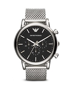 Emporio Armani Quartz Chronograph Stainless Steel Watch, 46 mm - Bloomingdale's_0