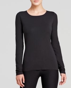 Wolford Pure Pullover Long-Sleeve Top