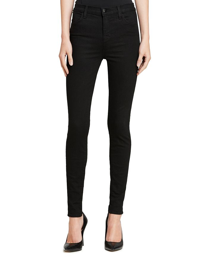J Brand - Photo Ready Maria High-Rise Skinny Jeans in Vanity