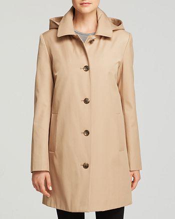 Ralph Lauren - Radcliffe A-line Hooded Rain Coat