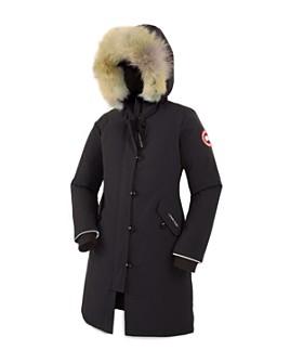 Canada Goose - Unisex Fur-Trimmed Brittania Parka - Little Kid, Big Kid